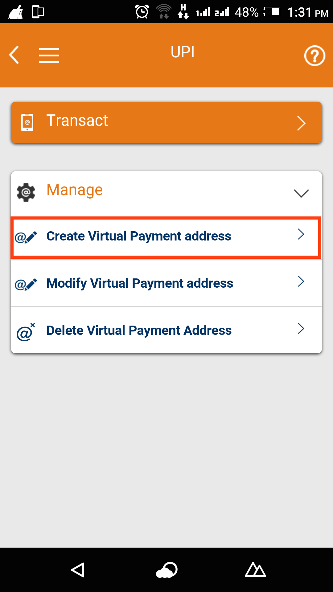 VPA (Virtual Payment address) – Instamojo